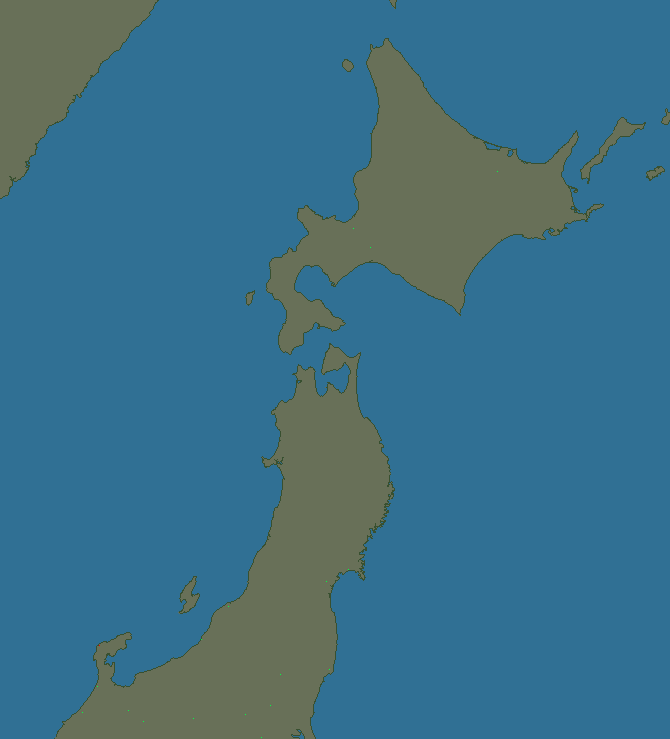Lightning map East Japan1 2020-07-09 (Animation)